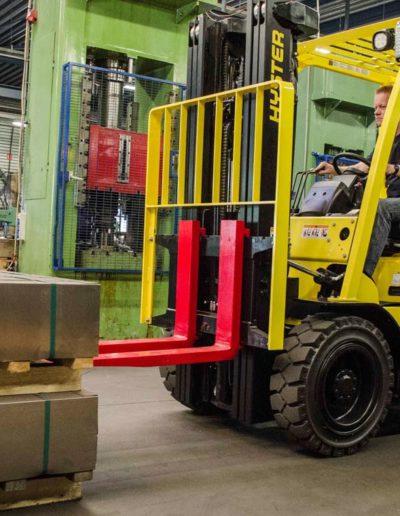 Carretillas Frontales Diesel y GLP HYSTER KARBAR Publi 1