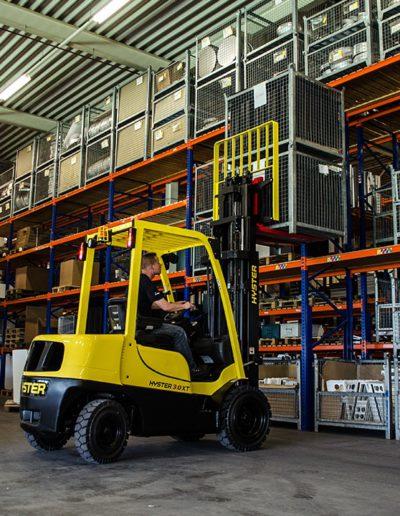 Carretillas Frontales Diesel y GLP HYSTER KARBAR Publi 2
