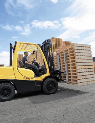 Carretillas Frontales Diesel y GLP HYSTER KARBAR Publi 4
